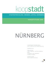 Konzeptstudie Nürnberg - Koopstadt