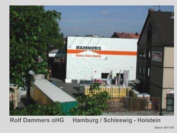 Unternehmenshistorie - Rolf Dammers ohg