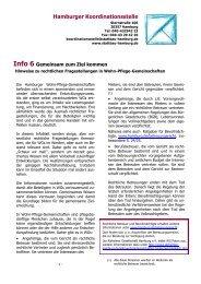 Hamburger Koordinationsstelle für Wohn-Pflege-Gemeinschaften
