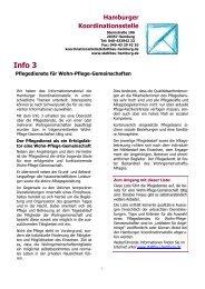 Info 3 - Hamburger Koordinationsstelle für Wohn-Pflege ...