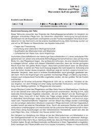 Zusammenfassung - Hamburger Koordinationsstelle für Wohn ...