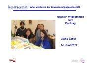 Präsentation Zabel - Hamburger Koordinationsstelle für Wohn ...