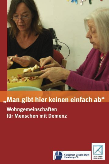 Begleitheft zum Film - Alzheimer Gesellschaft Hamburg eV