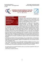Mai 2013 - Hamburger Koordinationsstelle für Wohn-Pflege ...