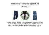Wenn die Jeans nur sprechen könnte…! - koost
