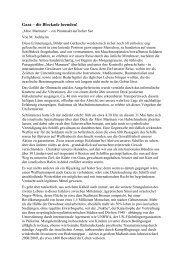 Gaza – die Blockade beenden! - Deutsche Koordinationskreis ...