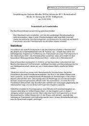 Empfehlung der Fraktion Bündnis 90/Die Grünen der BVV ... - kopofo