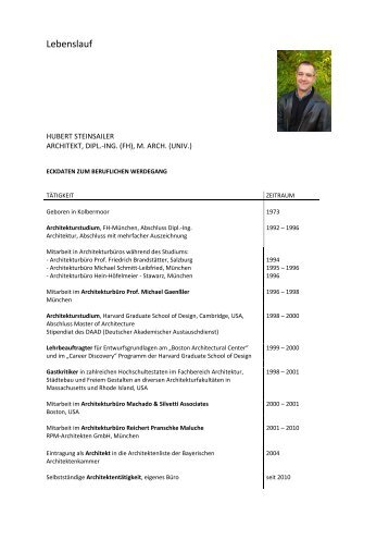 Studienzeit08/89 – 05/9