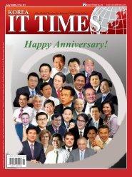 Happy Anniversary! - Korea IT Times
