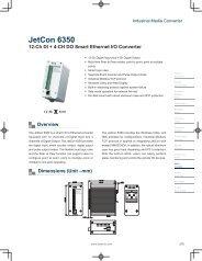JetCon 6350 - Korenix USA