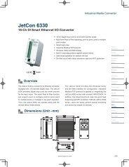 JetCon 6330 - Korenix USA