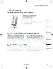 JetCon 3401G - Korenix USA