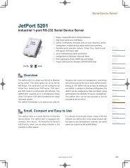 JetPort 5201 - Korenix USA