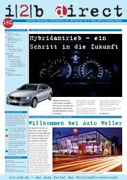 Willkommen bei Auto Weller - Axel Hausmann Kommunikation