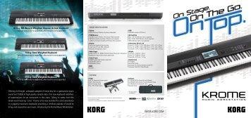 Korg m3 editor Manual
