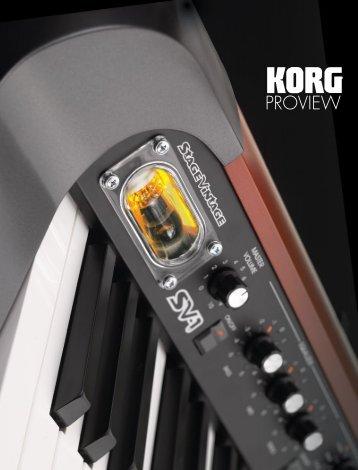 PROVIEW - Korg Canada