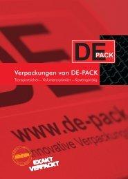 dpack e - DE-PACK Gmbh + Co. KG