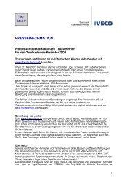 PRESSEINFORMATION - Iveco