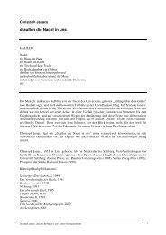Christoph Janacs - Edition Korrespondenzen