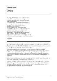 Pressestimmen - Edition Korrespondenzen