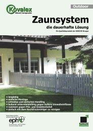 Zaunsystem - Kosche