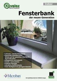 Fensterbank - Kosche