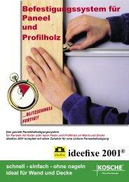 ideefixe 2001® - Kosche