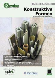 Konstruktive Formen - Kosche
