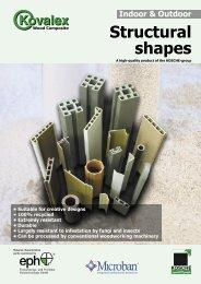 Structural shapes - Kosche