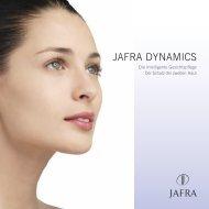 Jafra Dynamics Broschüre - Jafra kosmetik-webshop