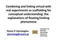 Combining and linking virtual with real experiments as scaffolding ...