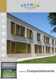 Compact-Elemente - SZ-Sonnenschutz GMBH