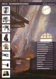 ANGELE Schmiedetechnik Katalog 2014
