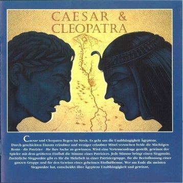 Caesar & Cleopatra - Kosmos Verlag
