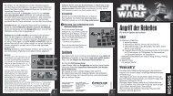 Anleitung: Star Wars™ - Angriff der Rebellen - Kosmos