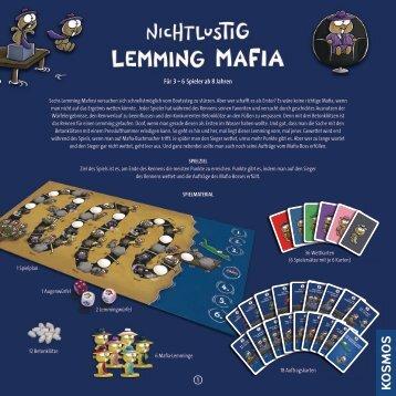 Anleitung: Nichtlustig - Lemming-Mafia - Kosmos