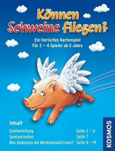Können Schweine Fliegen Anleitung
