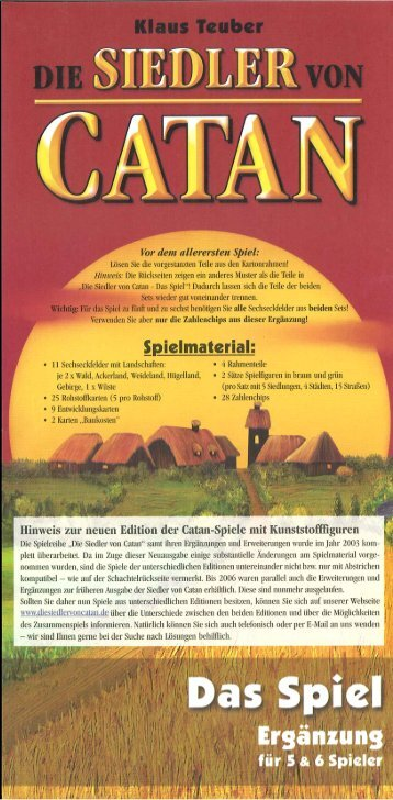 Anleitung - Kosmos