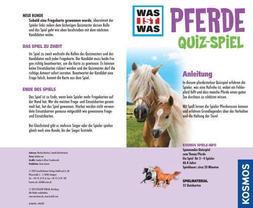 Pferde Quiz Fragen