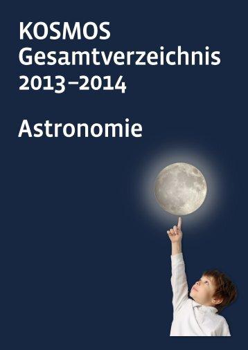 KOSMOS Gesamtverzeichnis 2013 –2014 Astronomie