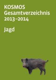 KOSMOS Gesamtverzeichnis 2013 –2014 Jagd