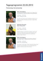 Freitag, 22. März - Horsemanship - Kosmos