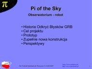 Projekt PI of the Sky (pobierz)