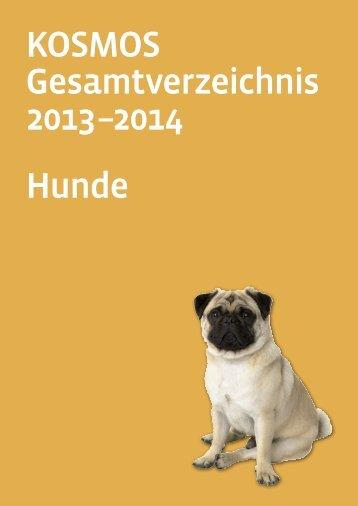 KOSMOS Gesamtverzeichnis 2013 –2014 Hunde