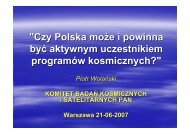 Czy Polska może i powinna być aktywnym uczestnikiem programów ...