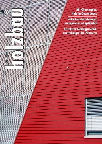 Mit Chancenplus: Holz im Gewerbebau ... - Kost Holzbau AG