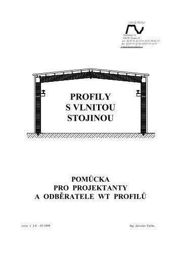 Příručka - Kovové profily, spol.s ro