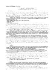 Příloha ke kupní smlouvě č. OP : 251275 VŠEOBECNÉ OBCHODNÍ ...