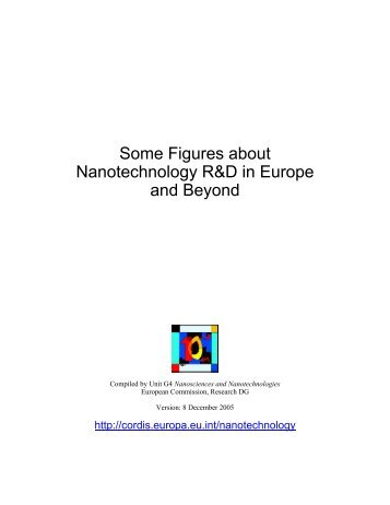 Some Figures about Nanotechnology R&D in Europe and ... - Europa