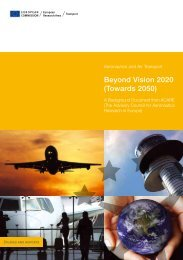 Beyond Vision 2020 (Towards 2050) - European Commission ...
